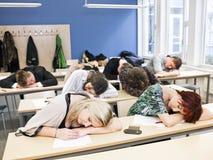 Classe ennuyeuse Image libre de droits