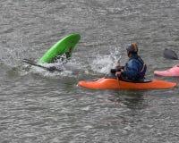 Classe Kayaking image libre de droits