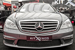 classe Mercedes s w221 Obrazy Royalty Free