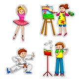 classes d'enrichissement Images stock