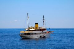 The classic 1930s cruising yacht Royalty Free Stock Image