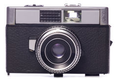 Classic 35mm film camera Stock Image