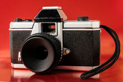 Classic 35mm Plastic Toy Photo Camera Stock Image