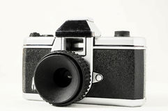Classic 35mm Plastic Toy Photo Camera Royalty Free Stock Images