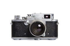 Classic 35mm SLR camera Royalty Free Stock Photo
