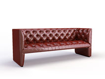 Classic 3d sofa Stock Photography