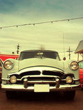 Classic 50s American Car Stock Photo