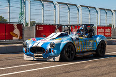 Classic AC Cobra race car Royalty Free Stock Photography