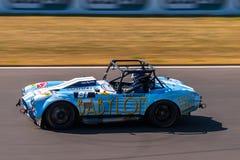 Classic AC Cobra race car Stock Photos