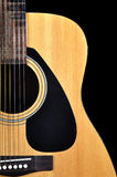 Classic acoustic guitar Stock Images