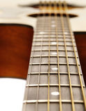 Classic acoustic guitar stock photography
