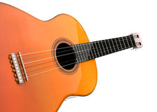 Classic acoustic guitar Royalty Free Stock Images