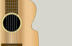 Classic acoustic guitar Royalty Free Stock Photography