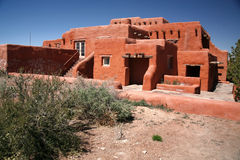 Classic Adobe house Royalty Free Stock Images