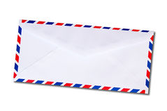 Classic air mail envelope Royalty Free Stock Photography