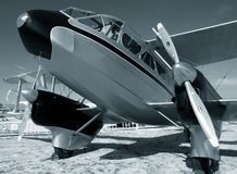 Classic airplane Royalty Free Stock Photos