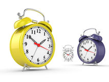 Classic alarm clock Stock Photos