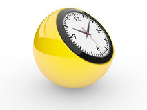 Classic alarm clock Royalty Free Stock Images