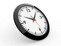 Classic alarm clock. (3D rendered alarm clock Royalty Free Stock Photos