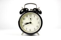Classic alarm clock. On white background Stock Photography