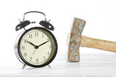 Classic alarm clock Stock Photo