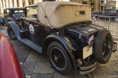 Classic alfa romeo 6c vintage car Royalty Free Stock Photo
