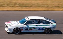 Classic Alfa Romeo GTV race car Royalty Free Stock Images
