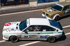 Classic Alfa Romeo GTV race car Stock Photo