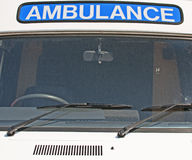 Classic Ambulance Royalty Free Stock Images
