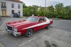 Classic amcar, ford gran torino 1974 Stock Photos