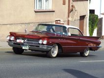 Classic Amercian coupe from 60s, Buick LeSabre Royalty Free Stock Photo