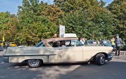 Classic American Cadillac car at a car show Stock Photo
