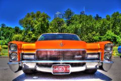 Classic American Cadillac Royalty Free Stock Photography