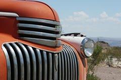 Classic American car. Bumper close up Stock Photography