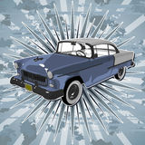 Classic American Car. Stock Images
