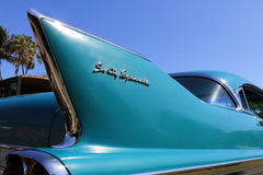 Classic american car detail Royalty Free Stock Image