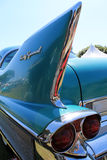 Classic american car detail Stock Photo
