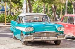 Classic American car in Havana