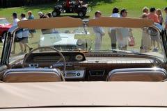 Classic american car interior Royalty Free Stock Image