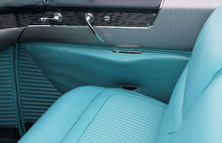 Classic american car interior details. 1953 cadillac eldorado Royalty Free Stock Image