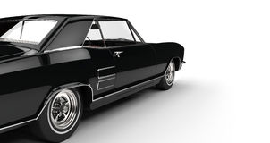 Classic American Car Power Shot Royalty Free Stock Photo
