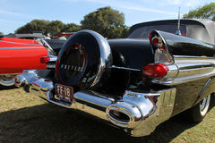 Classic american car rear Stock Photo