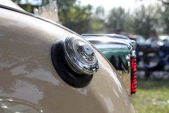 Classic American car rear detail Royalty Free Stock Image