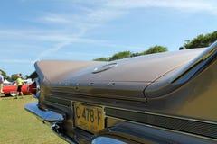 Classic american car rear details Stock Photos