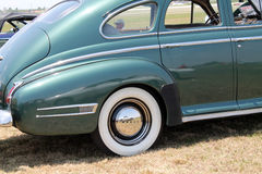 Classic american car rear Royalty Free Stock Images