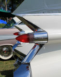 Classic american car tail lamps Stock Photography