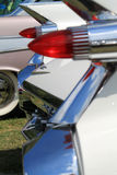 Classic american car tail lamps Royalty Free Stock Photos