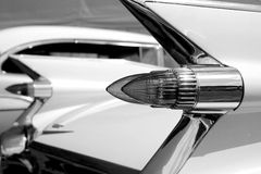 Classic american car tail lamps Royalty Free Stock Photography