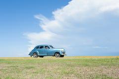 Classic American Car Varadero Cuba Stock Images