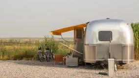 Classic american caravan Royalty Free Stock Images
